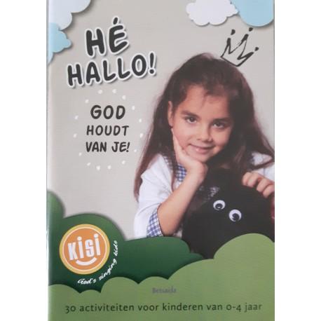 Hé hallo! God houdt van je! - activiteitenboek